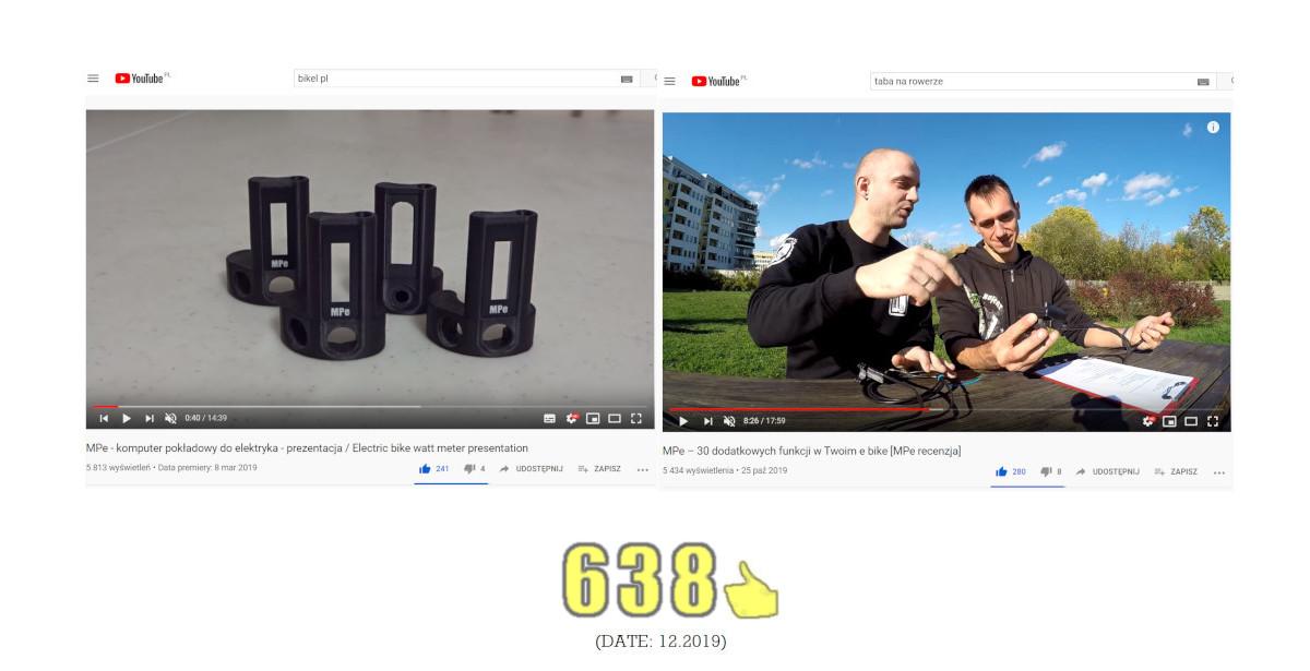 """Youtube """"Bikel pl"""" / """"Taba na rowerze"""""""