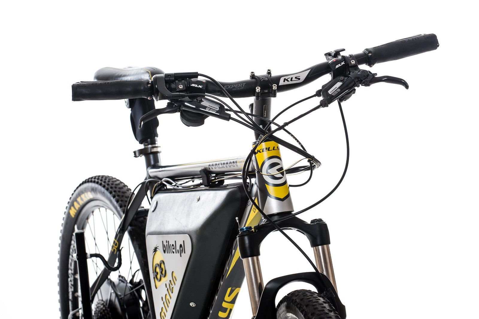 e-bike with MPe computer