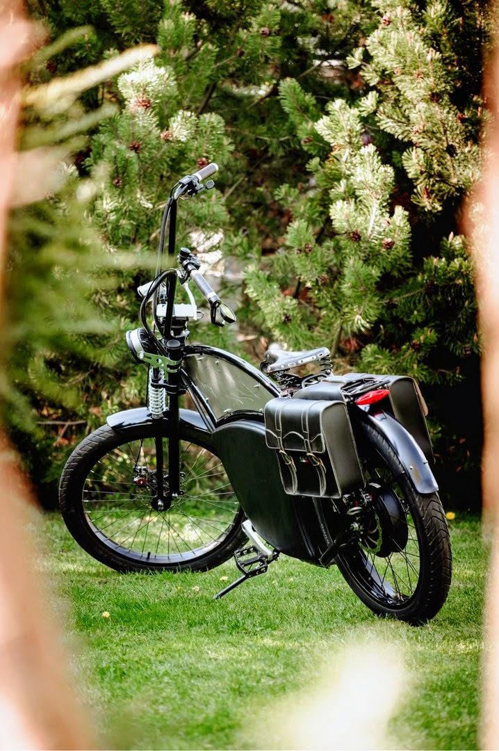Chopper e-bike with MPe compute
