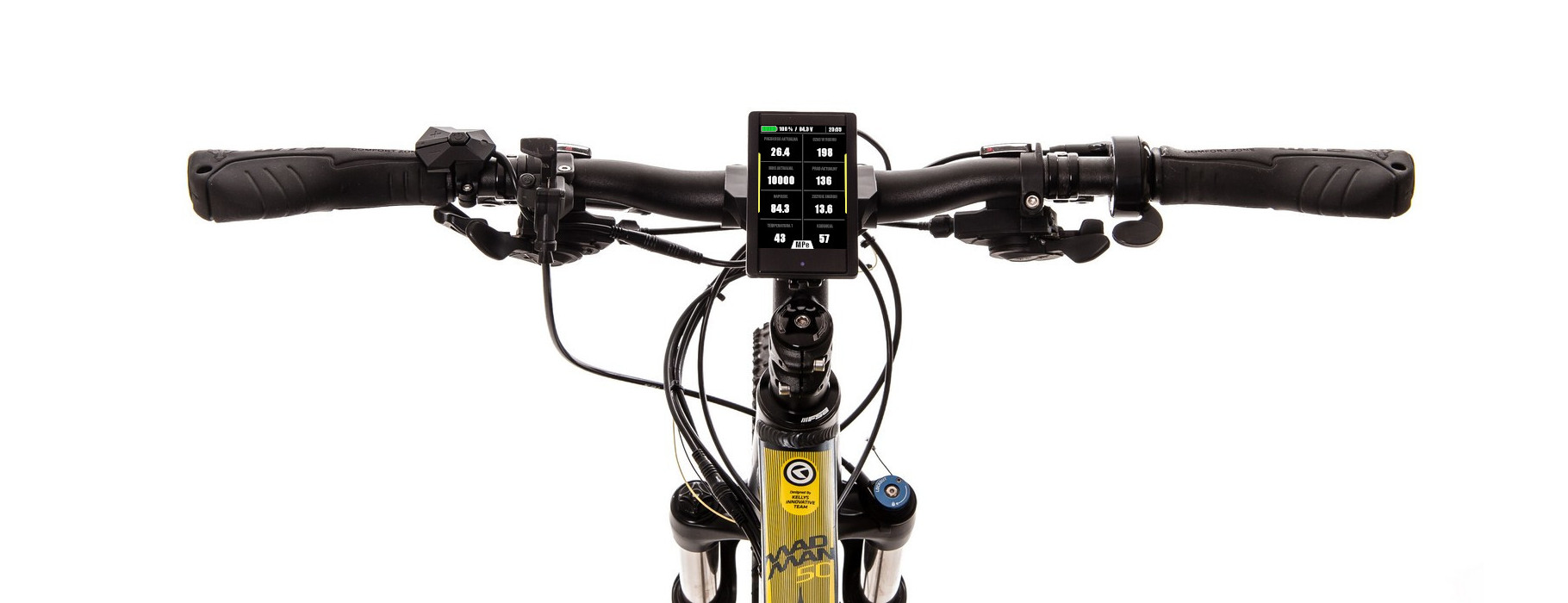 e-bike MaxiColor 850C screen 2