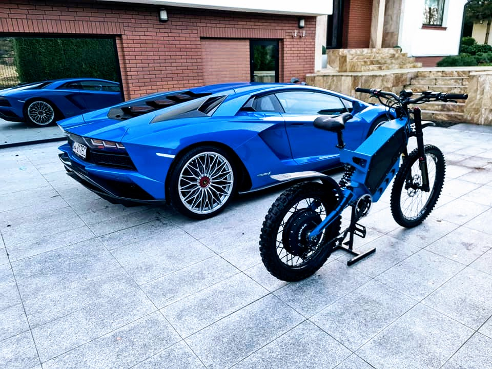 Veloce with MPe computer / ERider.pl