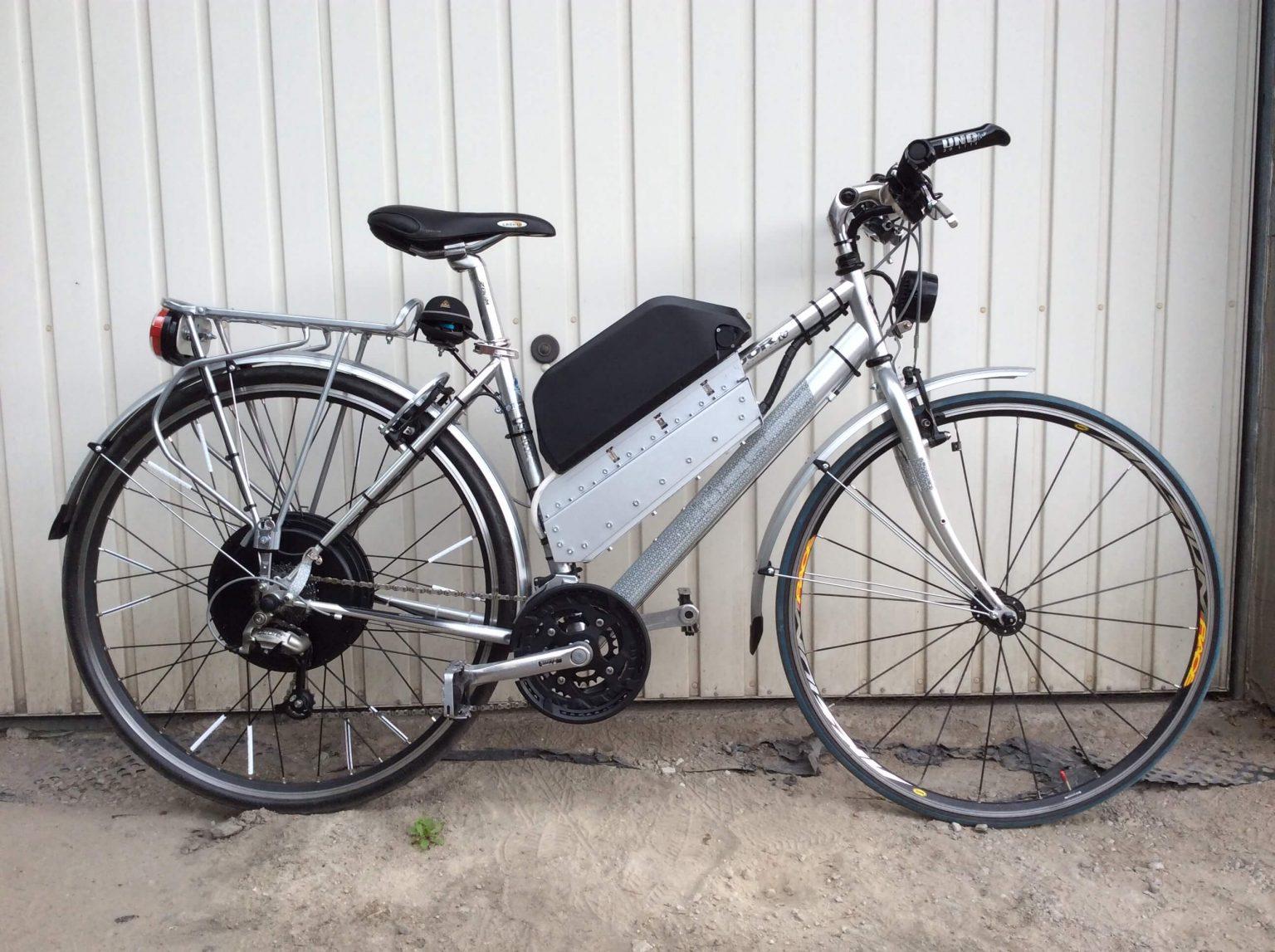 E-bike with MPe